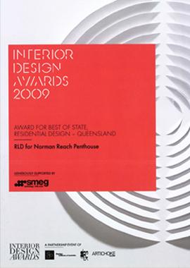 Winner Best of State Residential Design - Interior Design Awards Image