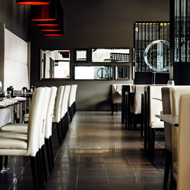 Fraser Suites Perth<br /> (Foyer and Restaurant)  Cover